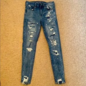 American Eagles Ripped Jeans